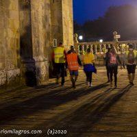 Primeros peregrinos de la mañana