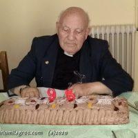 H.Eligio Rivas, 95 años, Felicidades