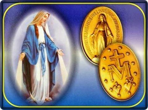 Milagrosa y medalla