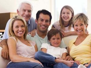 familia y abuelos