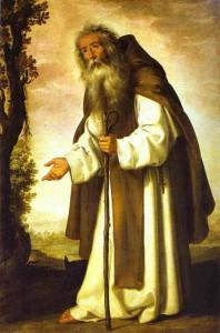 Antonio Abad de Zurbarán