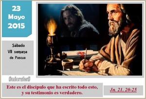 Sabado VII Pascua