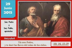 Lunes XIII Ordinario San Pedro