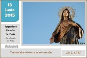 Sábado X Ordinario Corazón María