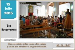 Miércoles XV Ordinario