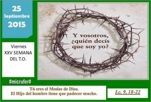 Viernes XXV Ordinario