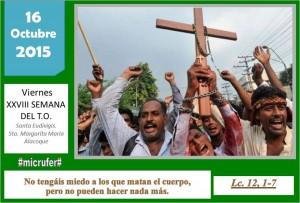 Viernes XXVIII Ordinario
