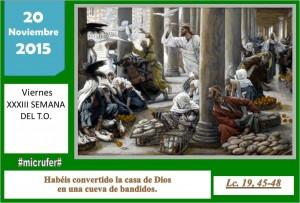 Viernes XXXIII Ordinario