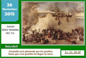 Viernes XXXIV Ordinario