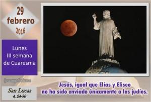 Lunes III Cuaresma