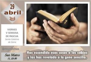 Viernes V Pascua