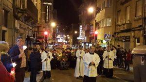 Fátima procesión