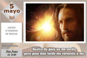 Jueves VI Pascua