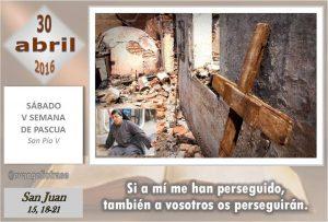 Sábado V Pascua