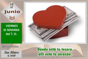 Viernes XI Ordinario