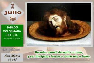 Sábado XVII Ordinario