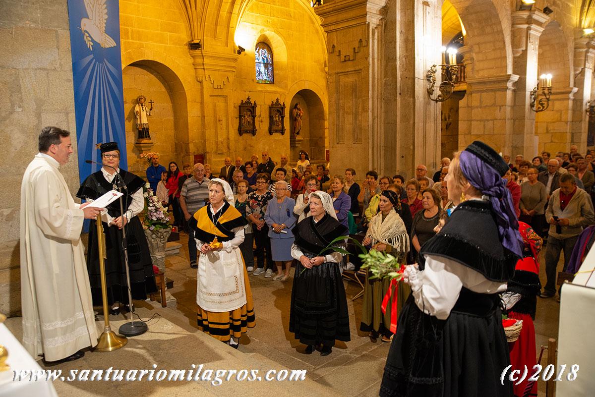 peregrinos señor y virgen del milagro